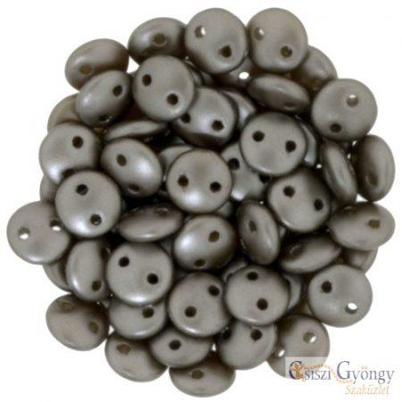 Pearl Coated Brown Sugar - 30 db - Kétlyukú Lentil gyöngy, mérete: 6 mm (25005Al)