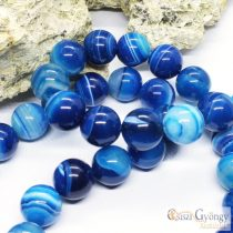 Natural Striped Agate Beads- 1 pcs. - 16 mm