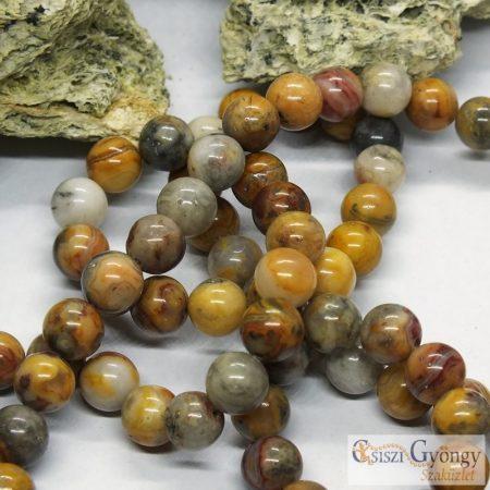 Natural Crazy Agate - 1 pcs. - 8 mm Gemstone Beads