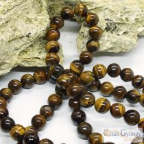 Tiger Eye - 1 pcs. - 8mm, Grade: AB