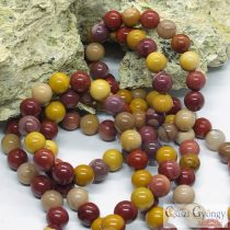 Natural Mookaite - 1 pcs. - 8 mm Gemstone Beads