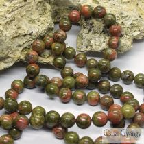 Unakite - 1 pcs. - 8 mm Gemstone Beads
