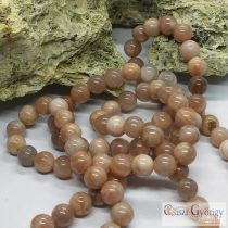 Natural Sunstone - 1 pcs. - 8 mm Gemstone Beads