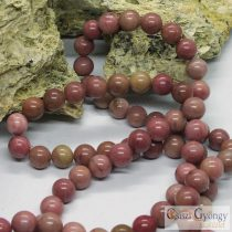 Rhodochrosite - 1 pcs. - 8 mm Gemstone Beads