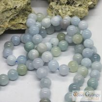 Aquamarine - 1 pcs. - 8 mm Gemstone Beads