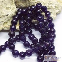 Amethyst - 1 pcs. - 8 mm Gemstone Beads
