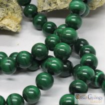 Natural Malachite - 1 pcs. - 8 mm Round Beads