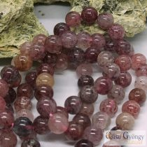 Strawberry Quartz - 1 pcs. - 8 mm Round Beads