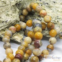 Crazy Agate - 1 pcs. - 8 mm gemstone beads
