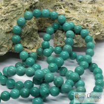 Natural Dyed Green Turquoise - 1 pcs. - 8 mm