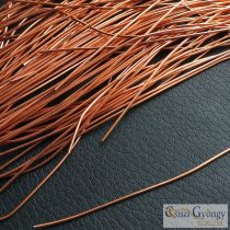 French Wire - 1 pcs. - copper color, 0.7mm dia., 31 cm long