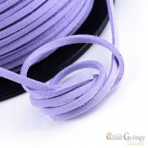 Lila Leather Imitation - 1 meter - size: 3 mm wide