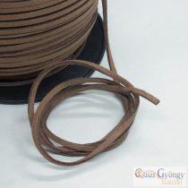 Brown Faux Suede Cords - 1 meter - 3 mm