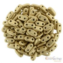 Matte Metallic Flax - 30 pc. - Bar beads, size: 2x6 mm (K0171)