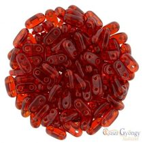 Siam Ruby - 30 pc. - Bar beads 2x6 mm (90080)