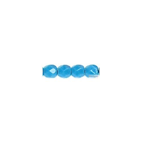 Opaque Light Blue - 50 db - csiszolt gyöngy 3 mm (63050)