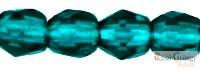 Dark Emerald - 50 db - csiszolt gyöngy 3 mm (50740)