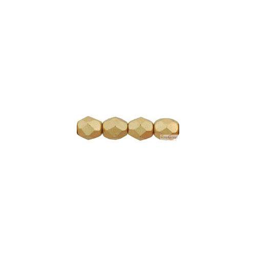 Matte Metallic Flax - 50 db - csiszolt gyöngy 3 mm (K0171JT)