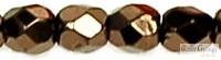 Metallic Bronze - 50 db - 3 mm csiszolt gyöngy (LJ23980)