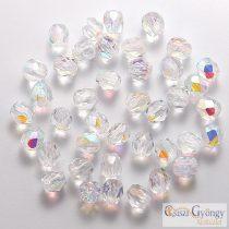 Crystal AB - 50 db - csiszolt gyöngy 3 mm (X00030)