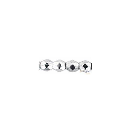 Silver  - 50 db - csiszolt gyöngy 3 mm (27000CR)