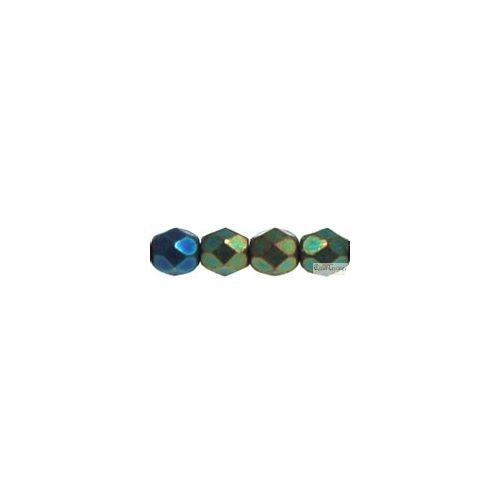 Iris Green - 50 db - csiszolt gyöngy 3 mm (21455JT)