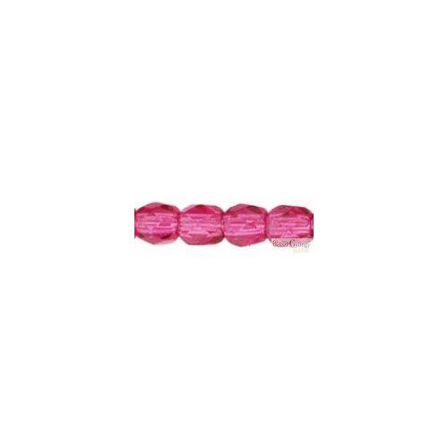 Fuchsia - 50 db - csiszolt gyöngy 3 mm (70350)