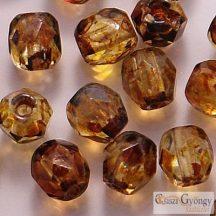 Crystal Picasso - 50 db - csiszolt gyöngy 3 mm (T00030)