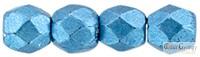 C.T. Sat. Metallic Boy Blue - 50 db - 3 mm csiszolt gyöngy (05A05)