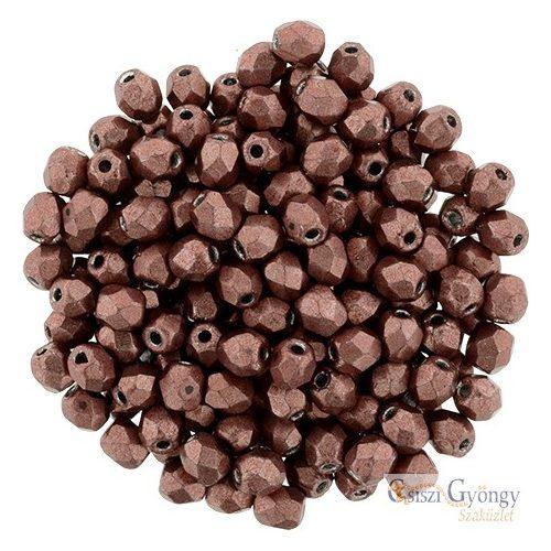 C.T. Sat. Metallic Grenadine - 50 db - 3 mm csiszolt gyöngy (04B01)