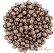 Saturated Metallic Autumn Maple - 50 db - 3 mm csiszolt gyöngy (04B10)