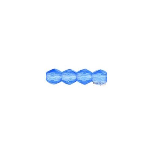 Sapphire - 50 db - 3 mm csiszolt gyöngy (30040)