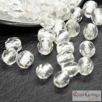 Silver Lined Crystal - 50 pcs. - 3 mm Fire-polished Beads (SL00030)
