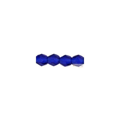 Cobalt - 50 db - 3 mm csiszolt gyöngy (30090)
