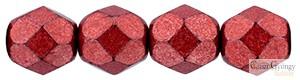 C.T. Sat. Metallic Cherry Tomato - 50 db - 3 mm csiszolt gyöngy (05A08)