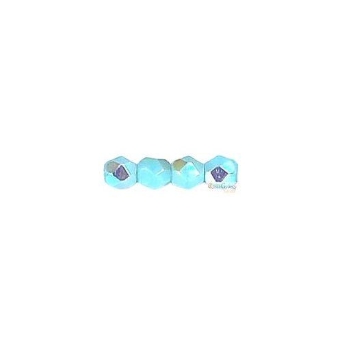 Sky Blue Coral AB - 50 db - 3 mm csiszolt gyöngy (X63020)