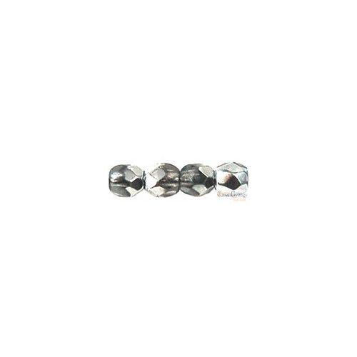 Coated 1/2 Silver - 50 db - 3 mm csiszolt gyöngy (K2601)