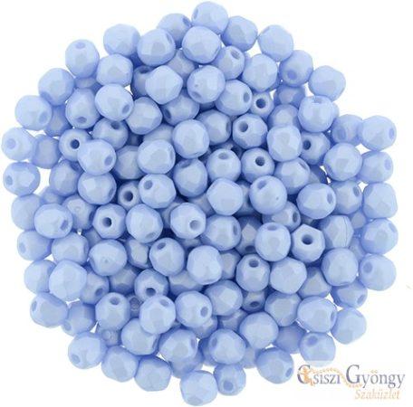 Powdery-Pastel Blue - 50 db - 3 mm csiszolt gyöngy (29310AL)