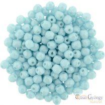 Powdery-Pastel Turquoise - 50 db - 3 mm csiszolt gyöngy (29313AL)
