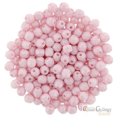 Powdery-Pastel Pink - 50 db - 3 mm csiszolt gyöngy (29305AL)