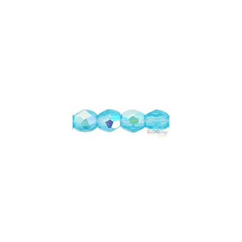 Aquamarine AB - 50 Stk. - Fire-polished Beads 3 mm (X60020)