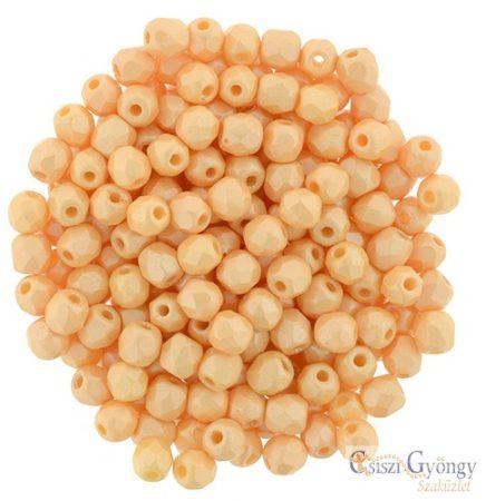 Powdery-Pastel Orange - 50 db - 3 mm csiszolt gyöngy (29334AL)