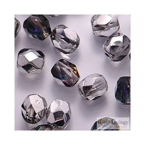 Crystal Heliotrope - 50 db - csiszolt gyöngy 3 mm (H29536)