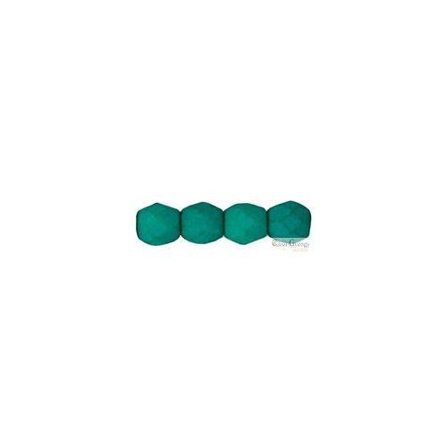 Neon Dark Emerald - 50 db - csiszolt gyöngy 3 mm (25128AL)