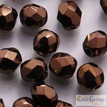 Dark Bronze - 40 pc. - 4 mm Fire-polished Beads (LZ23980)