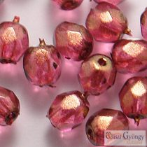 Halo Cherub - 40 pcs. - 4 mm Fire-polished Beads (69259CR)
