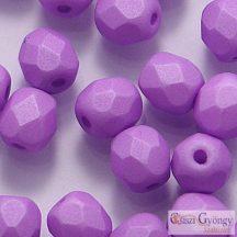 Saturated Lavender - 40 db - 4 mm csiszolt gyöngy (29570AL)