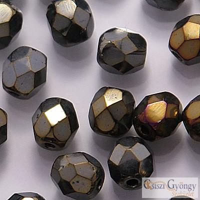 Iris Brown - 40 db - csiszolt gyöngy 4 mm (21415JT)