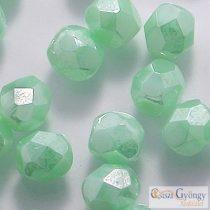 Luster Opaque Azur Turquoise - 40 Stk. - 4 mm Glasschliffperlen (L54200)