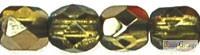 Opal Red - 40 db - 4 mm csiszolt gyöngy (91250)